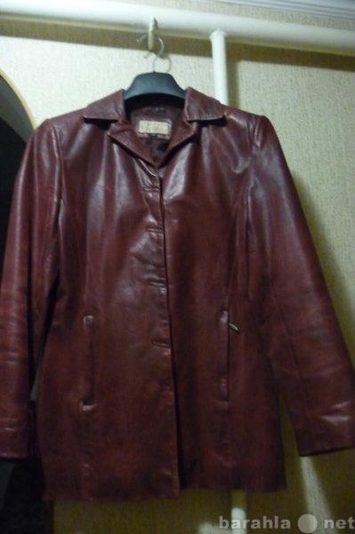 Продам куртку кожа в Краснодаре.