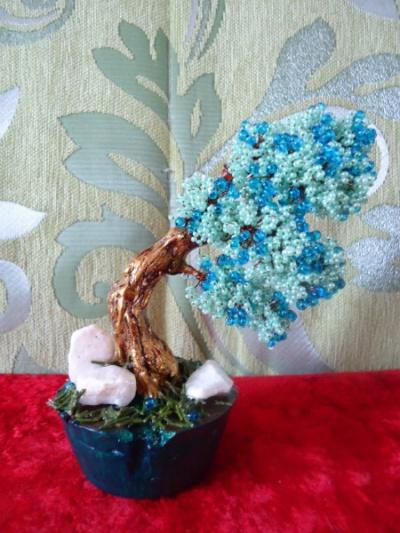 Продам Дерево бонсай из бисера в Краснодаре.